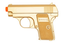 Double Eagle P328 Spring pistol bb gun in gold