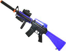 Double Eagle M83 B2 electric Semi Automatic bb gun in Blue