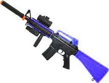 blue double eagle M83 B2 electric semi automatic rifle