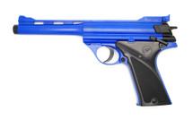 Double Eagle M28 Luger MKI Spring Pistol in Blue