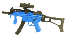 Well D97 MP5K replica fully automatic bb gun in Blue