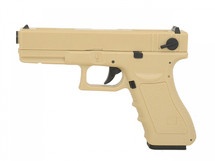 Cyma CM030 Electric Airsoft Pistol AEP in tan