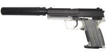 Blackviper USP Style Tactical Gas Pistol inc Silencer