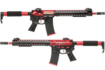 APS ASR120 FMR MOD1 Electric blow back rifle with Keymod rail (Red)