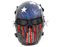 USA SKULL AIRSOFT MASK