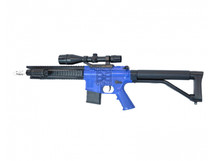 CYMA P137 M4 1/2 scale BB gun in blue