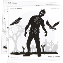 Anglo arms zombie paper targets 50 x 14cm