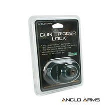 Anglo Arms Gun Trigger Key Lock in black