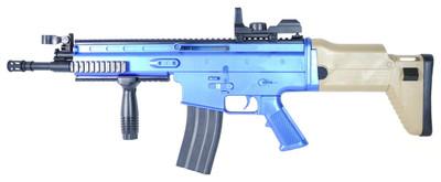 Vigor 8902A Spring Powered Rifle in blue