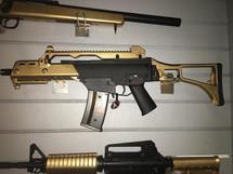 Cyma CM011 HK G39 Airsoft Gun Metal in Gold