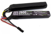Nuprol  11.1V 2600MAH LIPO Twin Stick Airsoft Battery