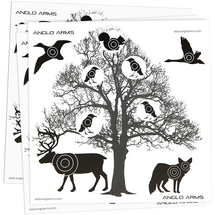 Anglo Arms Tree Targets 50 x 14cm pack of 50