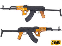 CYMA CM048SU AK47 AEG two tone blue and black Full Metal