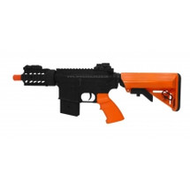 AGM 031 Navy Seal Metal Electric Rifle in Orange/Black