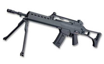 JG G36 G608-4 Airsoft AEG Rifle in two tone green and black
