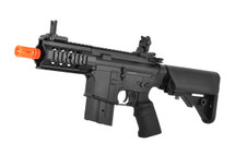 Golden Eagle M4 Stubby Killer Ris Cqb  Aeg Two Tone Orange And Black