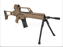 Ares AR-054 AS36K AEG Airsoft AEG Rifle in two tone blue and Tan