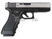 Army Armament R17 GBB V3 Pistol In Black & Silver