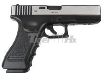 Army Armament R17-Y Gas Blowback Pistol in Black/Silver