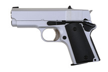 Army Armament R45 Detonics .45 GBB Full Metal pistol in Silver