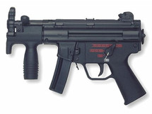 Well G55 MP5K Replica With Gas Blowback in Black