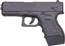 Galaxy G16 Full Metal Pistol in Black