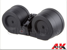 A&K 2500rd Auto Winding Twin Drum Magazine For G36 Series