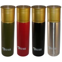 savage island 500ml Steel Thermal Shotgun Cartridge Flask in red