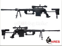 Ares M200 Spring Power Bolt Action Sniper Rifle in Black Lsr-005