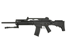 JG G36K Airsoft Rifle with Folding Stock in Black