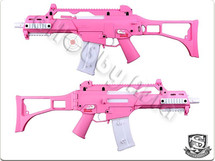 H&K G36C AEG Competition Version in Hot Pink