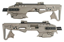 CAA RONI B M9 Pistol Carbine Conversion Kit in Tan
