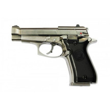 WE Cheetah M84 GBB Pistol in Silver