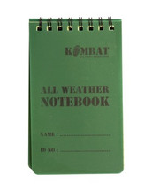 Mini Waterproof Notebook