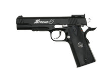 G&G Xtreme 45 Full Metal CO2 Airsoft Pistol in Full black