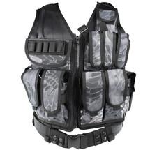 WoSport Tactical Mesh Vest in Kryptek Typhon Camo