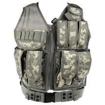WoSport Tactical Mesh Vest in ACU Camo