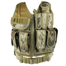 WoSport Tactical Mesh Vest in Mandrake Camo