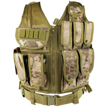 WoSport Tactical Mesh Vest in Nomad Camo