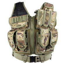 WoSport Tactical Mesh Vest in Multi Cam