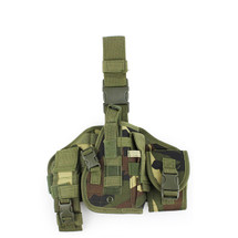 WoSport Ultimate Molle Leg Holster in Woodland DPM