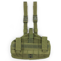 WoSport Molle Leg Holster in Olive Drab