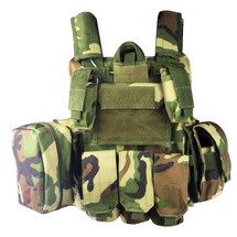 WoSport CIRAS Combat Vest in Woodland DPM