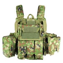 WoSport CIRAS Combat Vest in Multi Cam