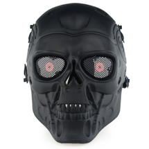 Wo Sport Terminator T800 Airsoft Mask in Black