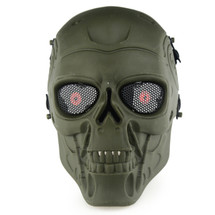 Wo Sport Terminator T800 Airsoft Mask in Olive Drab