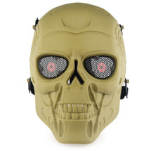 Wo Sport Terminator T800 Airsoft Mask in Tan