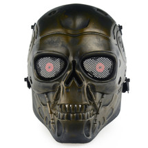Wo Sport Terminator T800 Airsoft Mask in Bronze