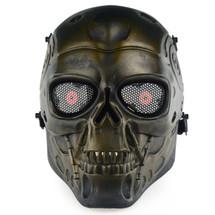 Wo Sport Terminator T800 Airsoft Mask in Bronze