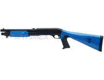 Double Eagle M56A Tri Shot Pump Action Shotgun in Blue
